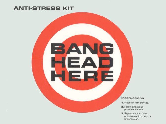Editorial: Bang Head Here