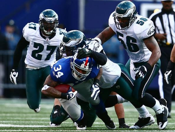 NY Giants versus Philadelphia Eagles