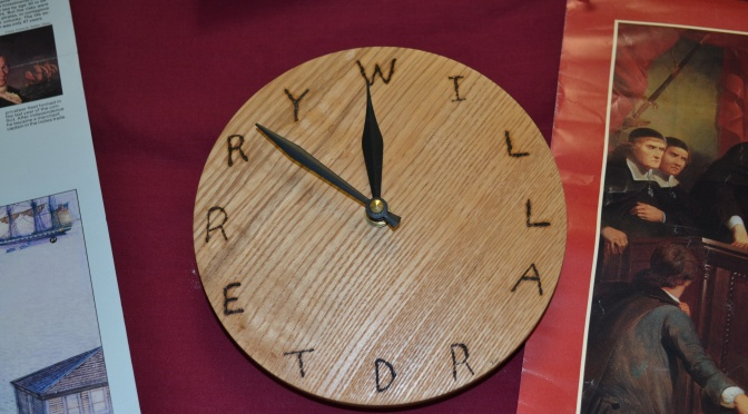 What Time Is It In Will Terry's Room?