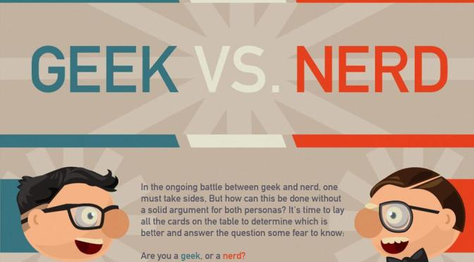 On Nerds and Geeks: Do you know how to tell them apart?