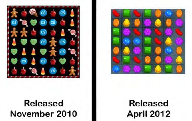 Candy Crush vs Candy Swipe