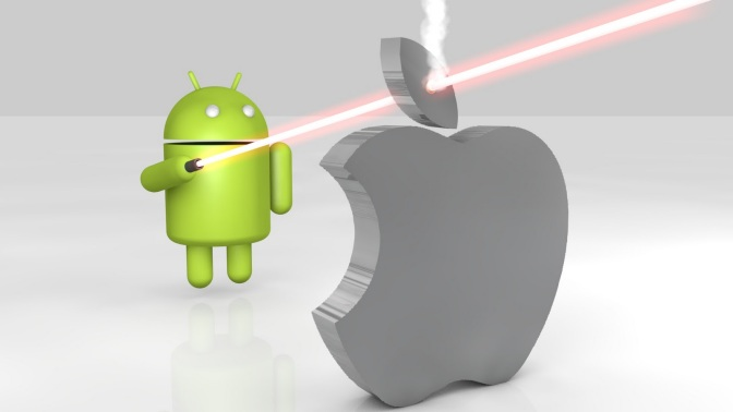 Google Gaining on Apple?