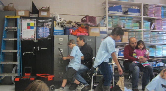 The Posies:  Sixth Grade Robotics Team Readies for Competition