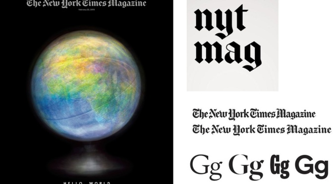 The NYT Magazine reimagined: What's up?