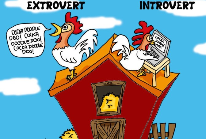 Introverts and Extroverts: The preferred personality