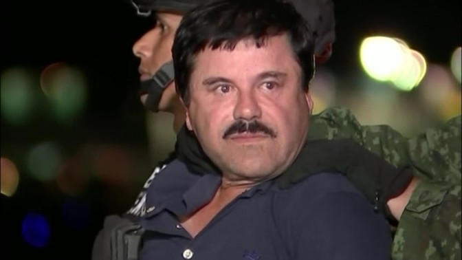 "Famous Drug Lord ""El Chapo"" Recaptured"