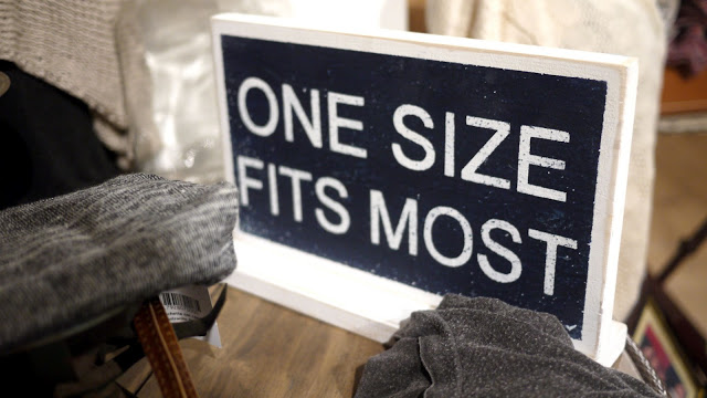 The One Size Only Enigma