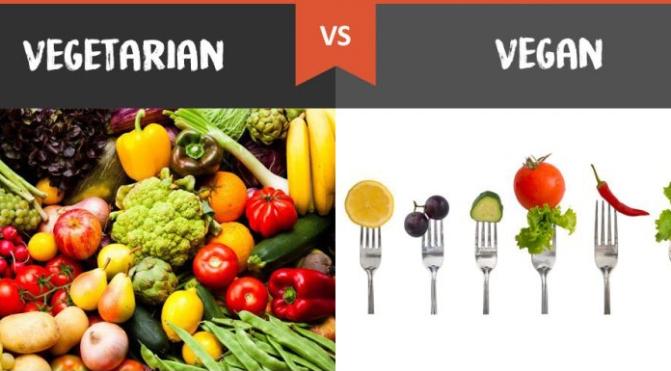 Vegetarians vs Vegans