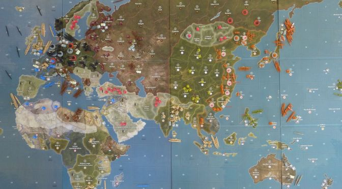 Axis and Allies 1940 Review