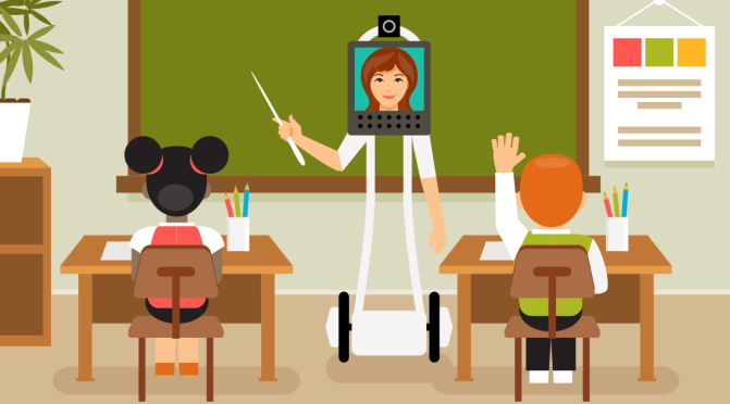 Is Your Teacher a Robot?