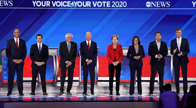 The Frontrunners of the 2020 Presidential Election